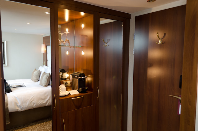 Storage space in the Loft Staterooms... Photo © 2014 Aaron Saunders