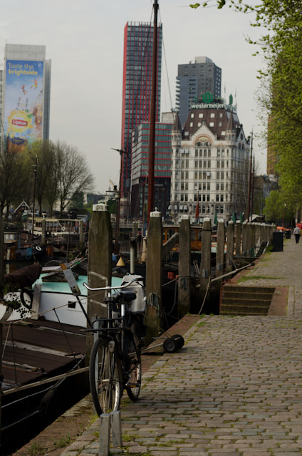 A few glimmers of historic Rotterdam still exist, though they're few and far between. Photo © 2014 Aaron Saunders
