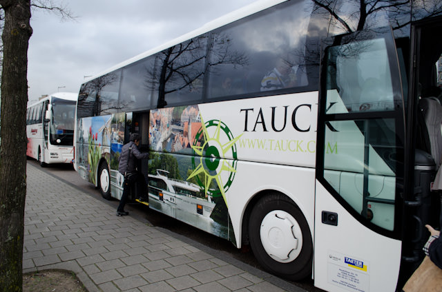 Tauck-branded motorcoaches whisked us off to the Rijksmuseum in Amsterdam this morning, and to the Keukenhof Gardens just outside the city this afternoon. Photo © 2014 Aaron Saunders
