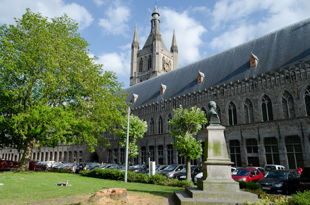 The Cloth Hall in Ieper, as it appears today. Photo © 2014 Aaron Saunders