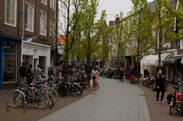 Middelburg is a walking city if there ever was one, with a pedestrian shopping district only blocks from the river cruise docks. Photo © 2014 Aaron Saunders