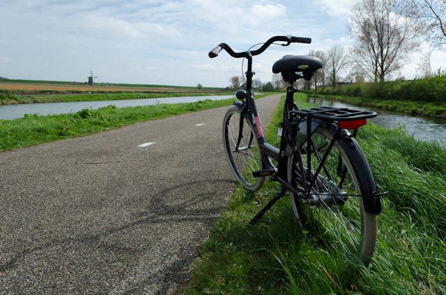 This afternoon, I took the opportunity to explore the Netherlands by bicycle, courtesy of Tauck. Photo © 2014 Aaron Saunders