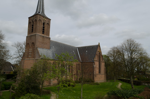 The cathedral in Shellinkhout, Netherlands. Photo © 2014 Aaron Saunders