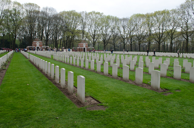 The Airborne Cemetery houses thousands of British and Canadian citizens who died during the Battle of Arnhem in 1944. Photo © 2014 Aaron Saunders