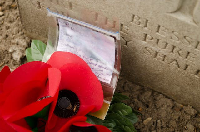 A moving day at the Airborne Cemetery in Arnhem, Netherlands with Tauck today. Photo © 2014 Aaron Saunders