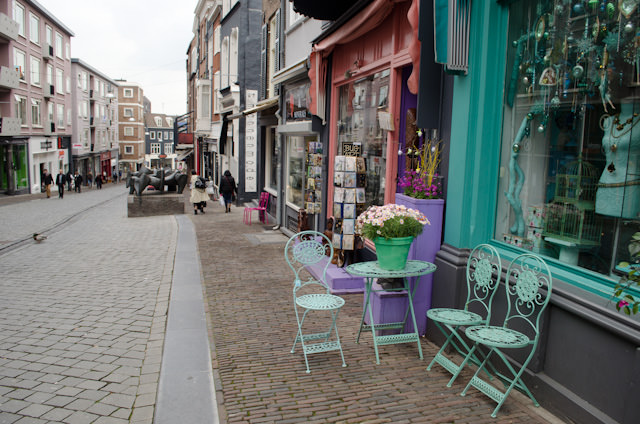 Although Nijmegen suffered terribly during World War II, parts of the historic town center still survive. Photo © 2014 Aaron Saunders