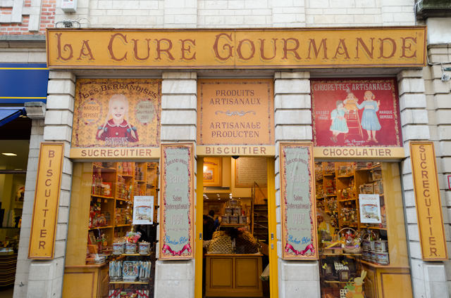 ...along with my favorite French chocolate & biscuit store! Photo © 2014 Aaron Saunders