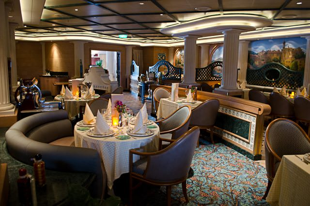 Sabatini's offers up Italian-style dining aboard Princess ships. Photo © 2012 Aaron Saunders