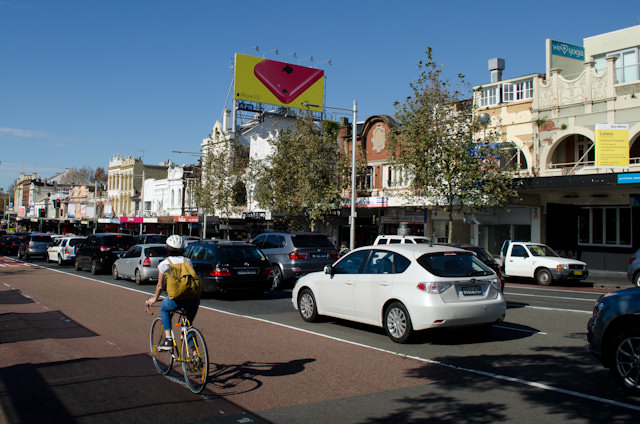 Initially unassuming, Surry Hills and Oxford Street have much to offer visitors to Sydney - and you can enjoy a nice leisurely stroll there from the Shangri-La if you're up for it. Photo © 2014 Aaron Saunders