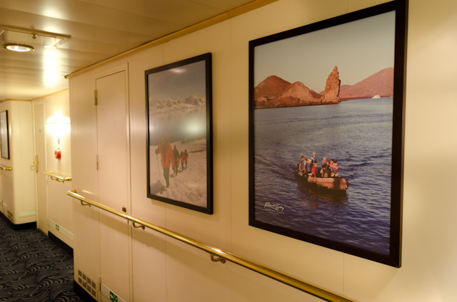One of the nicest touches aboard Silver Discoverer is the original photography taken by expedition team members interspersed throughout the ship. Photo © 2014 Aaron Saunders