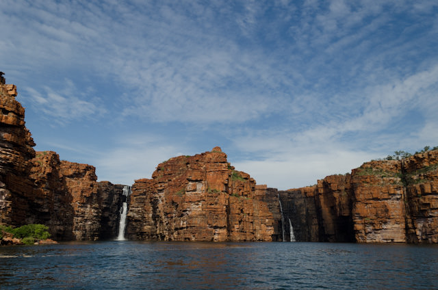 Few sights are more impressive than coming upon King George Falls in Australia. Photo © 2014 Aaron Saunders