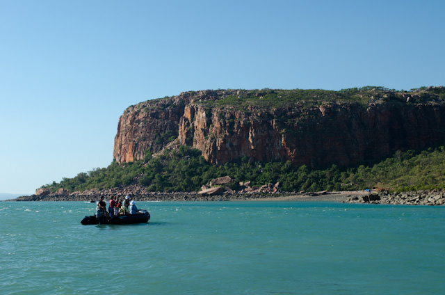 Coming ashore at Raft Point for a morning of exploration with Silversea Expeditions. Photo © 2014 Aaron Saunders