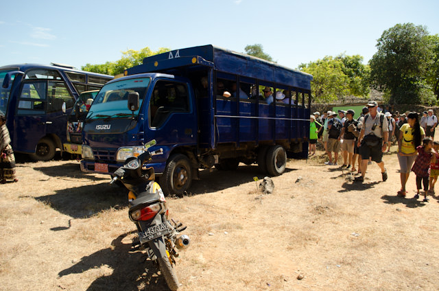 Our transportation to the next village. Let the adventure begin! Photo © 2014 Aaron Saunders
