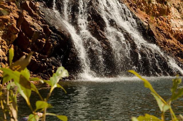 Crocodile Creek falls in Australia's Kimberley Region. Photo © 2014 Aaron Saunders