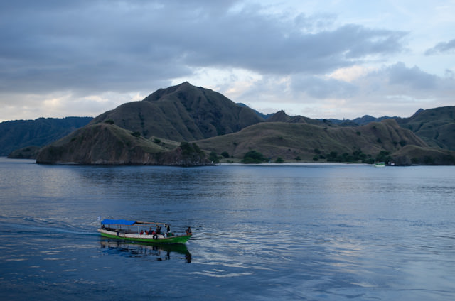 Today, Silversea's Silver Discoverer arrived off Komodo Island, Indonesia for a day of exploration. Photo © 2014 Aaron Saunders