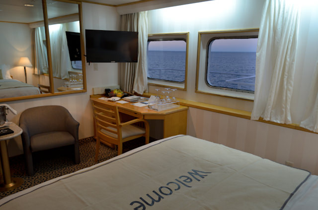The reverse view from the bed, facing forward and starboard. Photo © 2014 Aaron Saunders