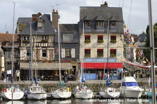 I visited pretty little Honfleur in 2011 and can't wait to see it again. © 2011 Ralph Grizzle