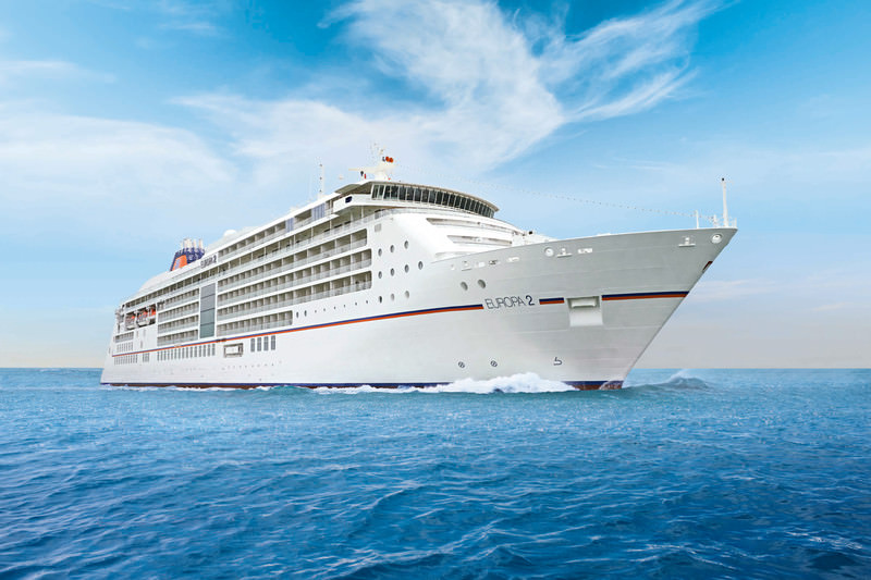 On September 20, we'll embark Hapag-Lloyd Cruises EUROPA 2 in Istanbul for a quick jaunt through Turkey and Greece. Photo courtesy of Hapag-Lloyd Cruises.
