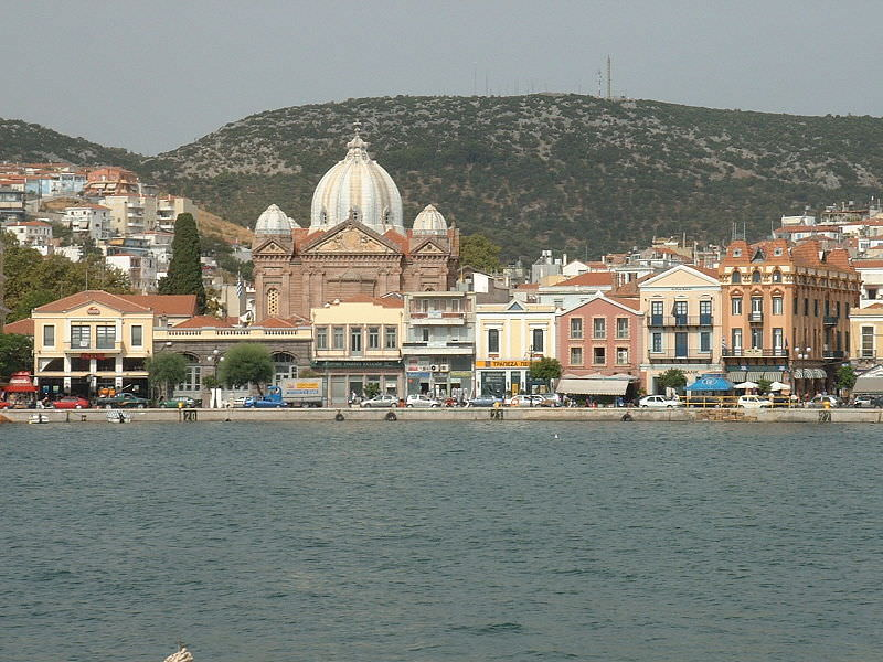 On our journey, we'll visit the Greek port of Mytilene. Photo courtesy of Wikipedia / Creative Commons