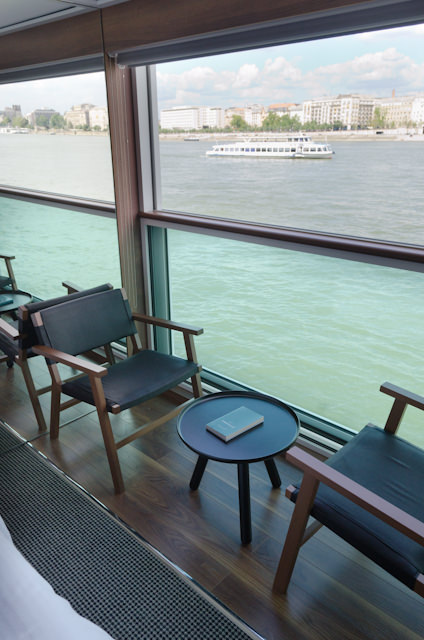 The fantastic Panorama Balcony in my stateroom. Photo © 2014 Aaron Saunders