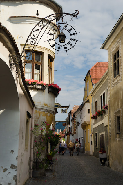 Strolling through the quaint streets of Durnstein. Photo © 2014 Aaron Saunders