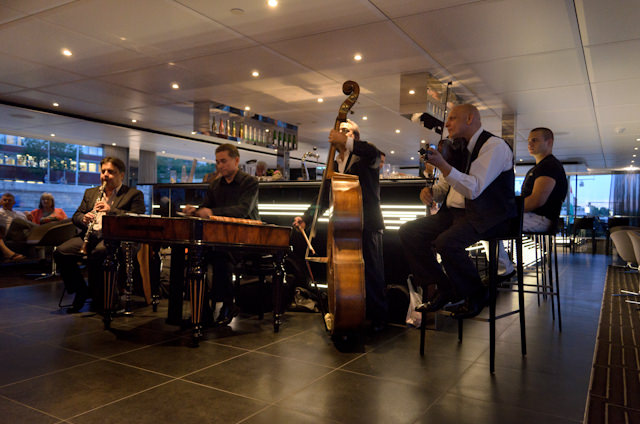 Local Hungarian entertainment this evening in the Horizon Lounge. Photo © 2014 Aaron Saunders