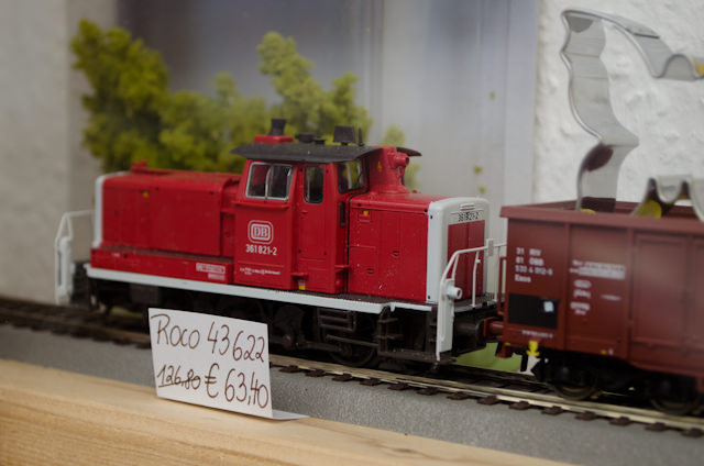 ...I found a shop that sells German model trains. Austria brings out my inner geek; it took all my willpower not to buy this engine! Photo © 2014 Aaron Saunders