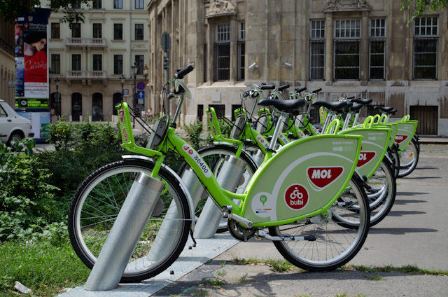 Forgot to take a bike off Emerald Star? You can also rent one in town at numerous locations. Photo © 2014 Aaron Saunders