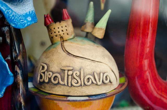 Today, we were treated to a tour of the Slovakian city of Bratislava, along with a special excursion to see how local families live in towns outside the city. Photo © 2014 Aaron Saunders