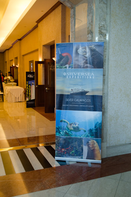Questions? The Silversea Hospitality Desk at the J.W. Marriott Quito can help. Photo © 2014 Aaron Saunders