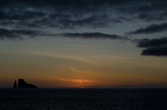 And me? I watched the setting sun. Photo © 2014 Aaron Saunders