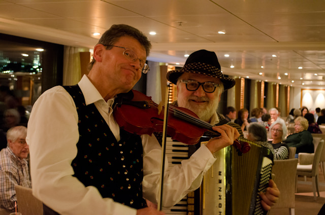 Live music from local performers from Melk was also offered to guests. Photo © 2014 Aaron Saunders