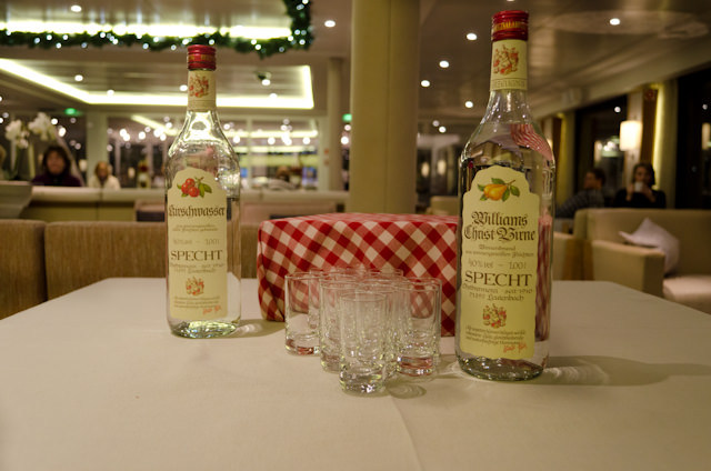 ...and went well with the Schnapps! Photo © 2014 Aaron Saunders