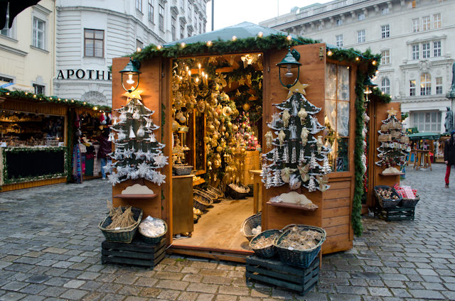 The Christmas Markets of Vienna, Austria are as stunning at the city itself. Photo © 2014 Aaron Saunders