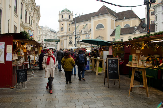 No two markets in Vienna are alike...and most are within walking distance! Photo © 2014 Aaron Saunders