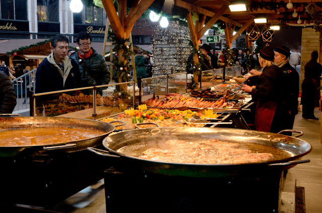 Budapest's Christmas Markets are a feast for the senses. Photo © 2014 Aaron Saunders