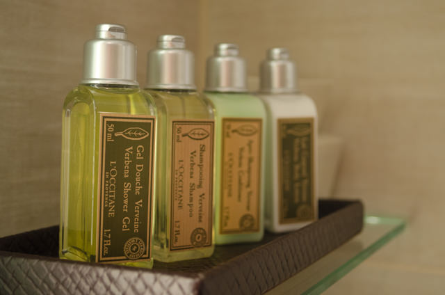 L'Occitane Toiletries; standard on Viking, essential in France. Photo © 2014 Aaron Saunders