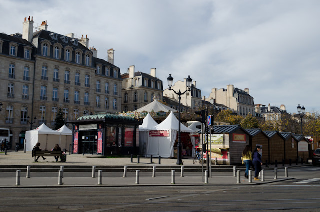 The entrance to Bordeaux's Christmas Market. Photo © 2014 Aaron Saunders