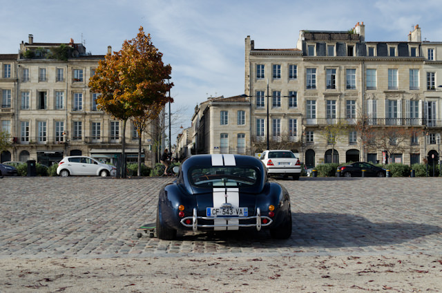 Bordeaux on a fall day is both quaint and alluring. Photo © 2014 Aaron Saunders