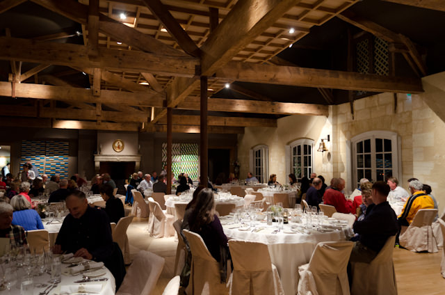 The sublime setting of our dinner at Chateau Kirwan. Photo © 2014 Aaron Saunders