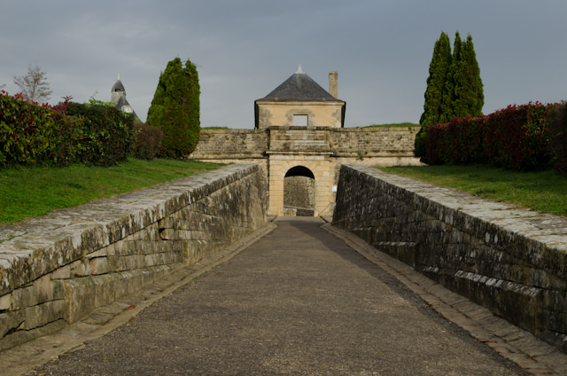 Blaye Citadel was overtaken just once, by history's favorite fun-loving guy, Napoleon. Photo © 2014 Aaron Saunders