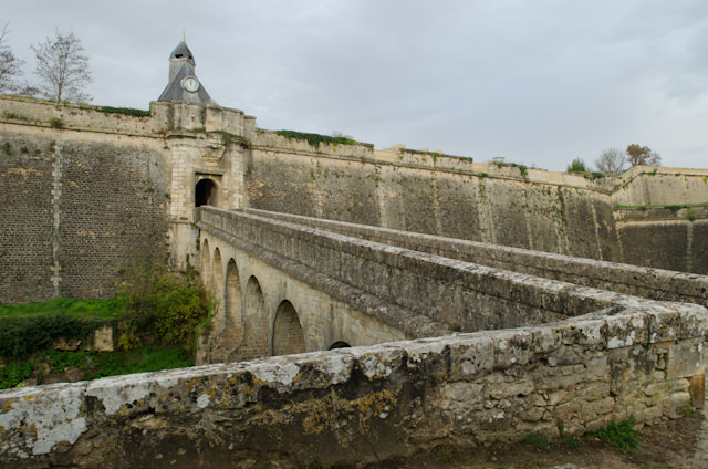 Blaye's picturesque Citadel has been recognized as a UNESCO World Heritage Site...and Viking Forseti docked right next to it. Photo © 2014 Aaron Saunders