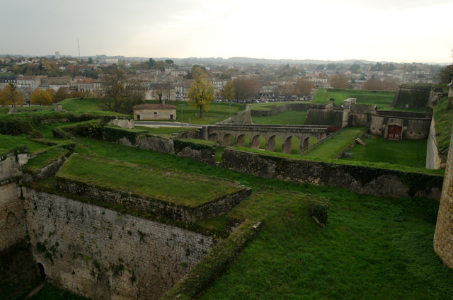 View from the Citadel, looking out over Blaye. Photo © 2014 Aaron Saunders