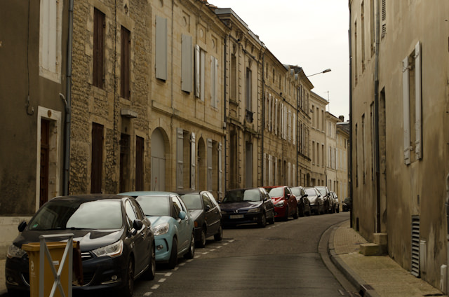 Wandering a sleepy Blaye... Photo © 2014 Aaron Saunders