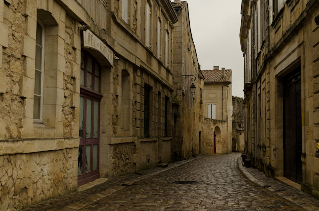 Strolling around the gorgeous, UNESCO World Heritage Site of Saint-Emilion. Photo © 2014 Aaron Saunders