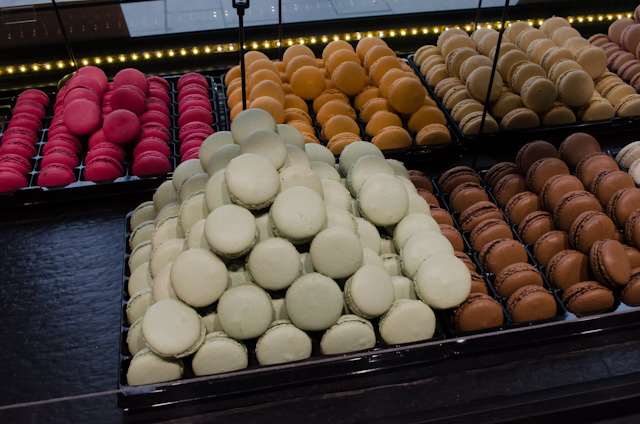 ...and Macaroons. Photo © 2014 Aaron Saunders