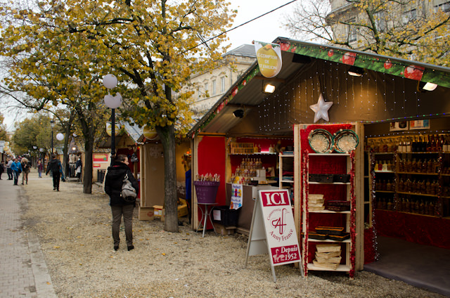 This isn't the largest or most elaborate Christmas Market I've ever seen, but it offers some very unique wares nonetheless. Photo © 2014 Aaron Saunders