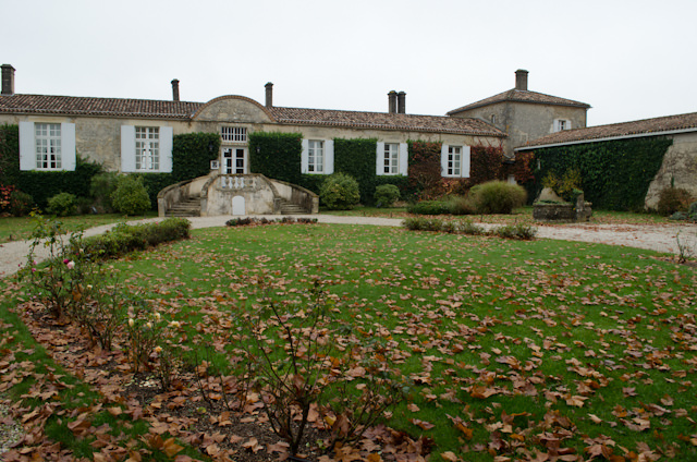 Chateau d'Arche would be the site of our morning Sauternes wine tasting. Photo © 2014 Aaron Saunders