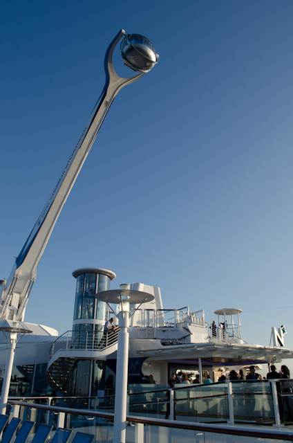 The North Star, fully extended. Photo © 2014 Aaron Saunders