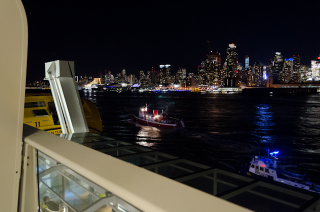The Big Apple, as seen from Royal Caribbean's Quantum of the Seas. Photo © 2014 Aaron Saunders
